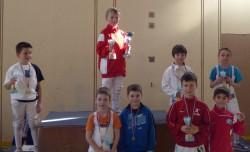 podium poussins douvaine 2015